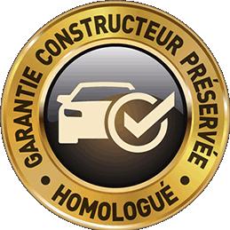 garantie-constructeur homologué