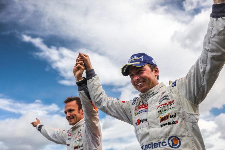 Yoann BONATO : Champion de France des Rallyes en 2017 crédit photo : MAP / Pierre Simenel