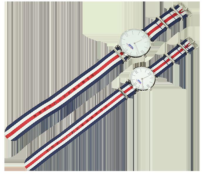 montres-bleu-blanc-rouge