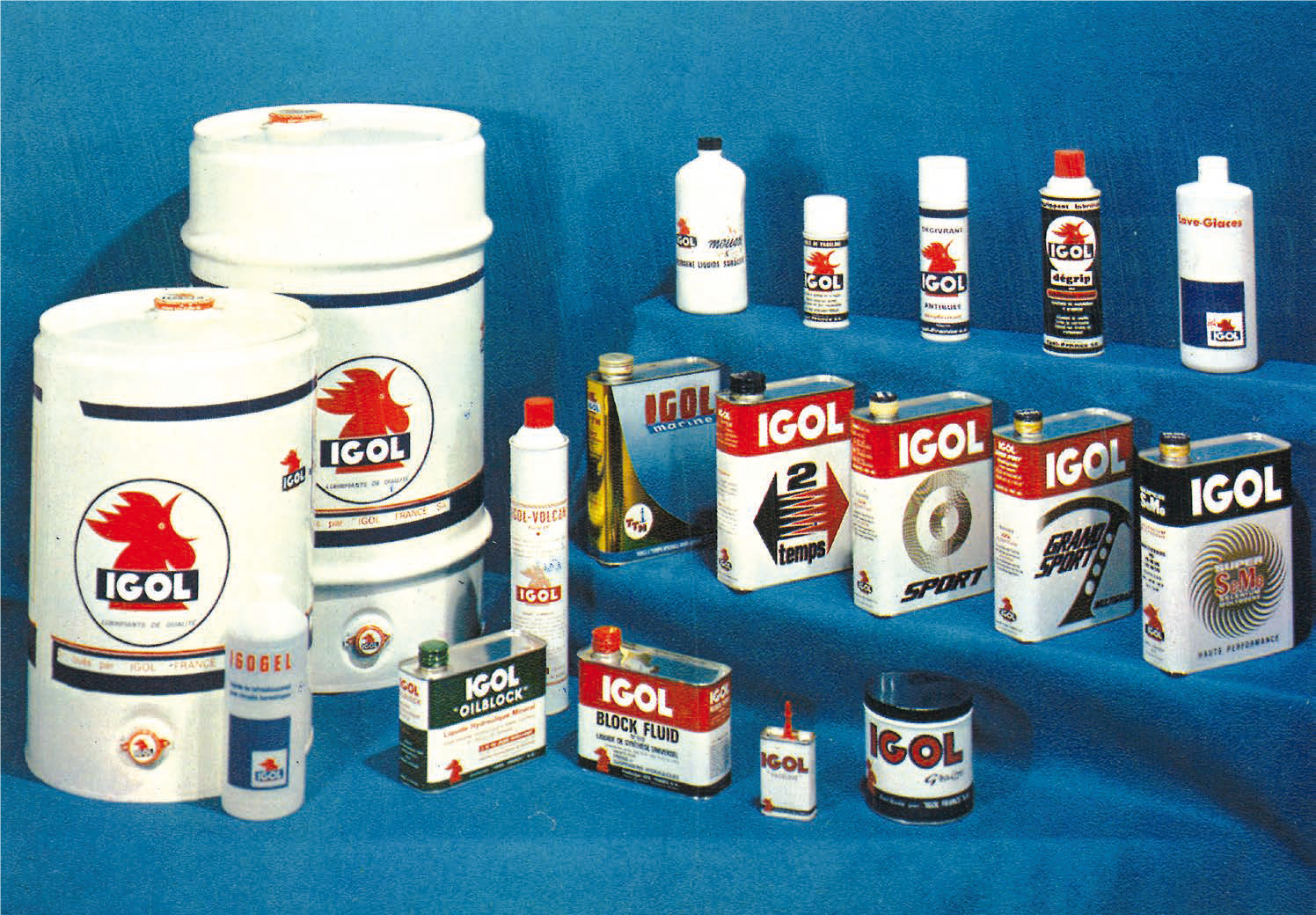 "IGOL SUPER SEMO will allow the brand to pass a new level in the recognition of the reliability of its lubricants. is turning more and more towards "" homemade ..."