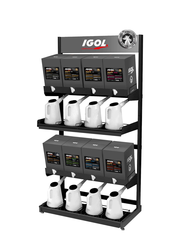 Bar à huiles IGOL-2018 2