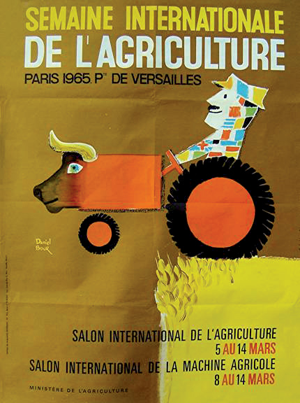 semaine internationale de l agriculture 1965