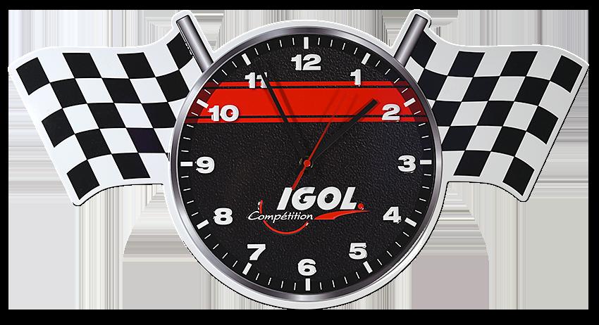 Horloge compétition Igol Pendule